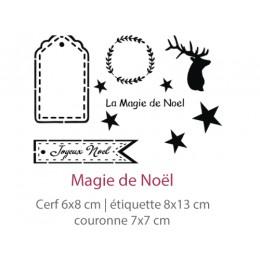 Pochoir Magie de Noël