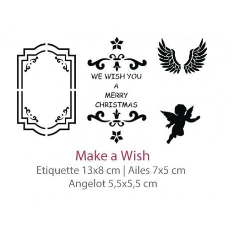 Pochoir Make a Wish