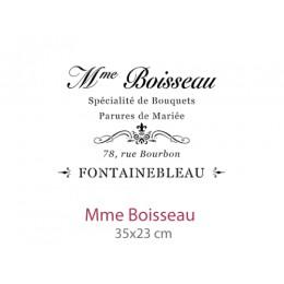Pochoir Mme Boisseau