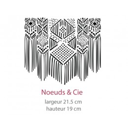 Pochoir Noeuds & Cie