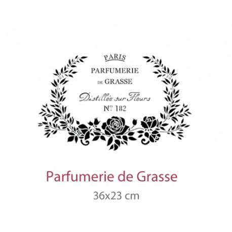 Pochoir Parfumerie de Grasse