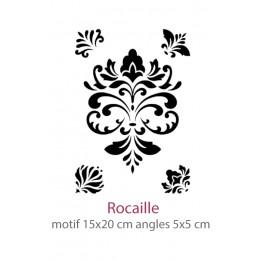 Pochoir Rocaille