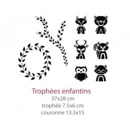 Pochoir Trophées Enfantins