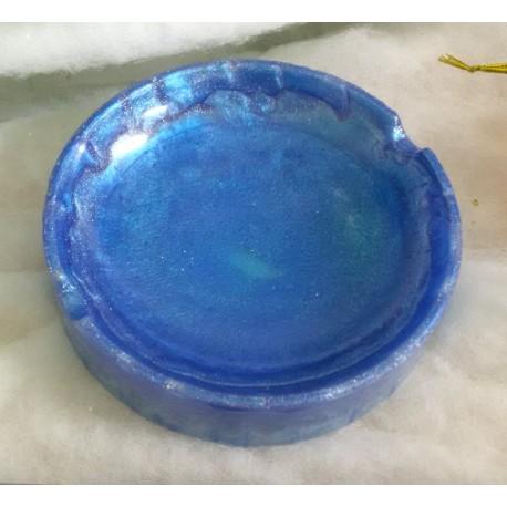 Cendrier bleu