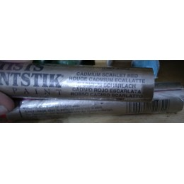 Baton à huile rouge cadmium écarlate