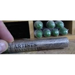 Baton à huile vert de chromium