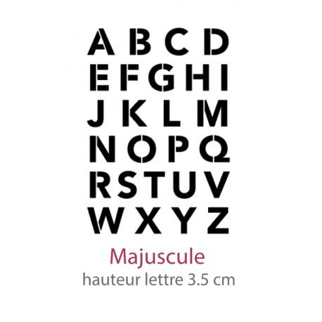 Alphabet AlphAvenir Majuscule