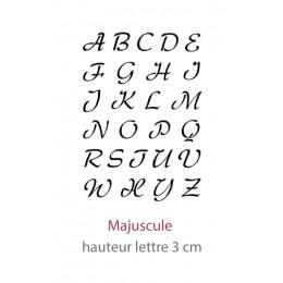Pochoir Alphabet Camaelle Majuscule