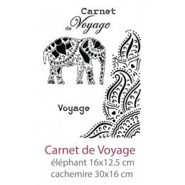 Pochoir Carnet de Voyage