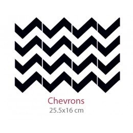 Pochoir Chevrons