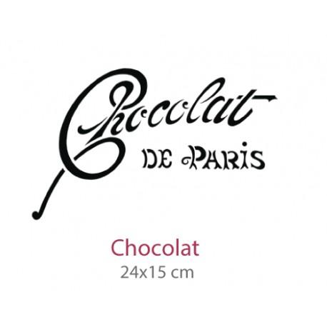 Pochoir Chocolat
