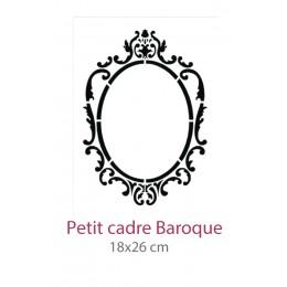 Pochoir Petit Cadre Baroque